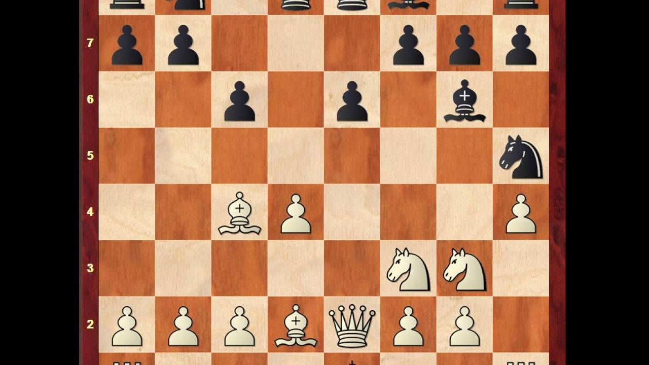 Peter Svidler Vs Lembit Oll B01 Scandinavian Defence Ter Apel 1996 4 1 0 Chess Chess Tactics Paul Morphy