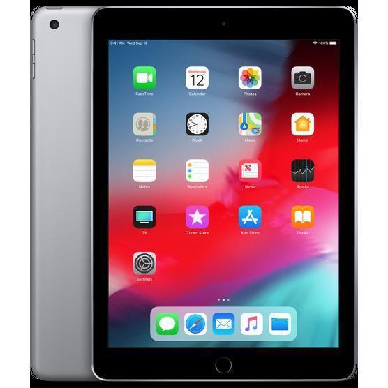 Ipad 9 7 Inch 6th Gen March 2018 128gb Space Gray Wi Fi Apple Ipad Refurbished Ipad New Apple Ipad