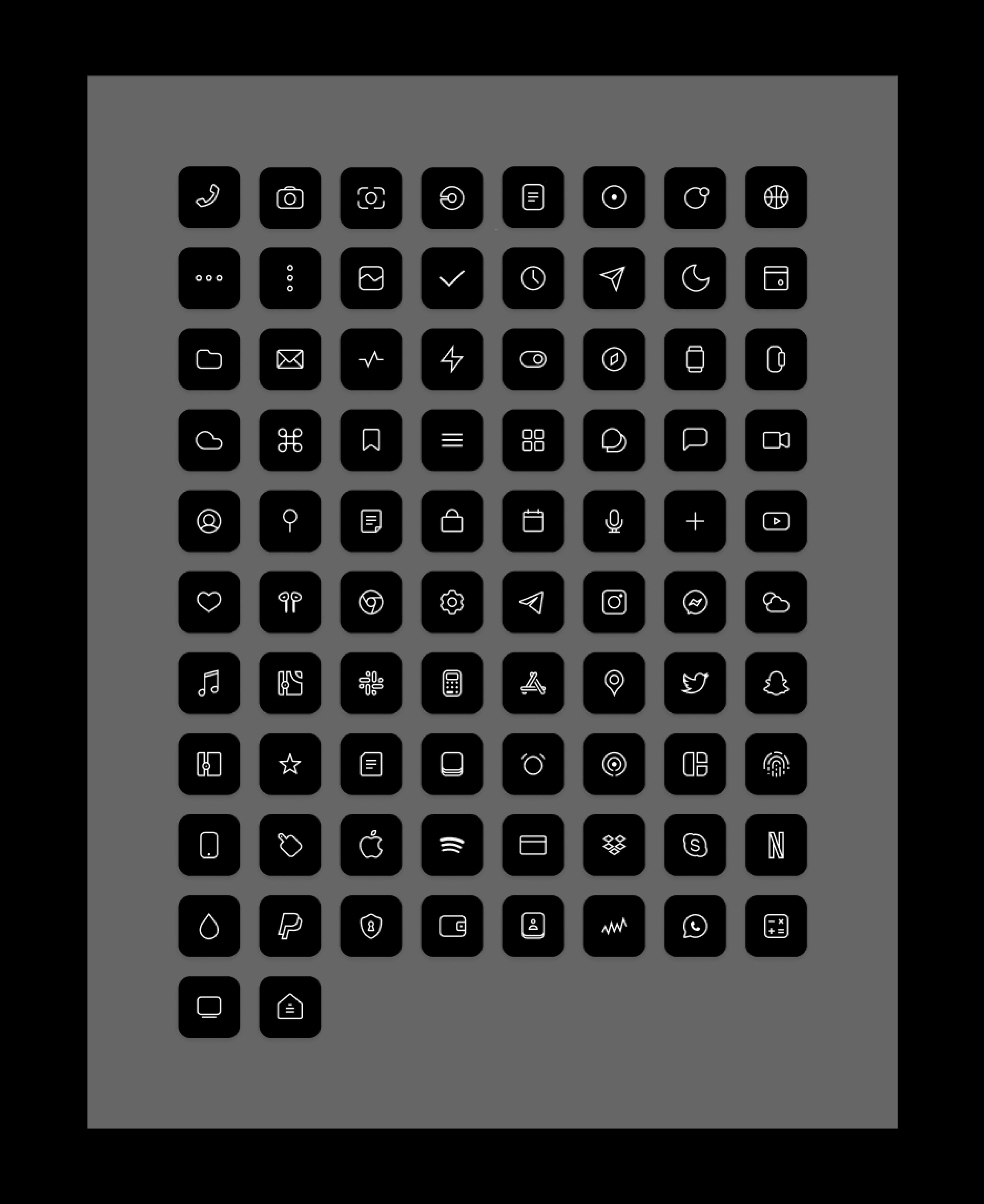 Ios 14 Icons Set Icon Set Iphone Wallpaper App Iphone App Design