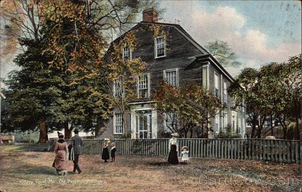 Old Pepperell Mansion Kittery Point Maine. The Spenny's & the Spinney's came from England & landed in Kittery, Maine in 1651!