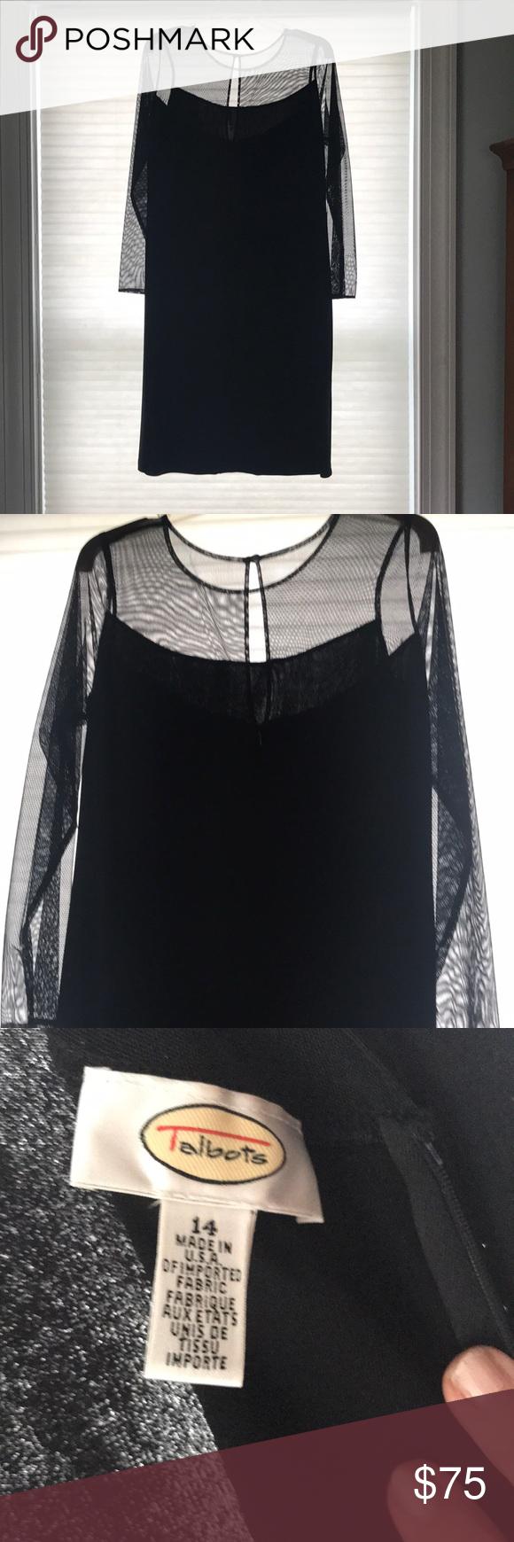 Talbots Black Dress Plaid Fashion Black Long Sleeve Dress Womens Green Dress [ 1740 x 580 Pixel ]