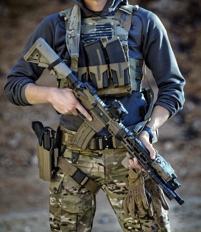 Multi cam AR-15 5.56/.223 | Combat gear, Tactical gear ...