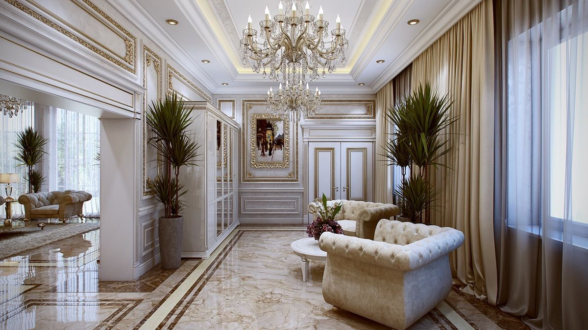 Beautiful 5 Luxurious Interiors Inspired By Louis Era French Design