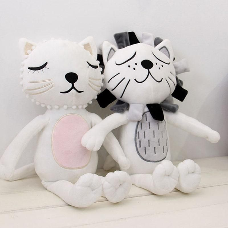 1pc 33cm HOT Lion Cat Shape Plush Toy New Baby Kids Stuffed Toy Animal Doll Kids Room Bed Decorative Best Gift For Baby