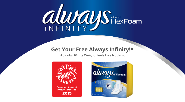 Always Infinity FlexFoam Sample for free Bargain Hound