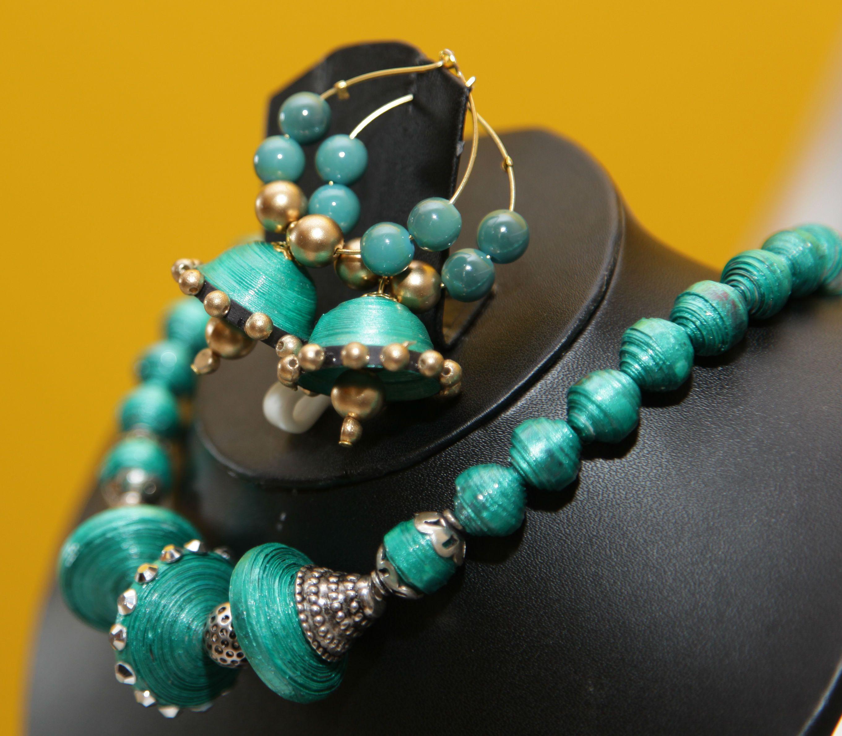 Pushkala - Handmade paper jewelry   Paper jewelry and Beads