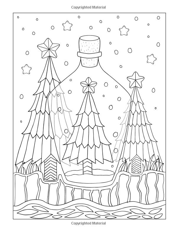 Amazon.com: Tir na Nollag: un hermoso libro para colorear de navidad ...
