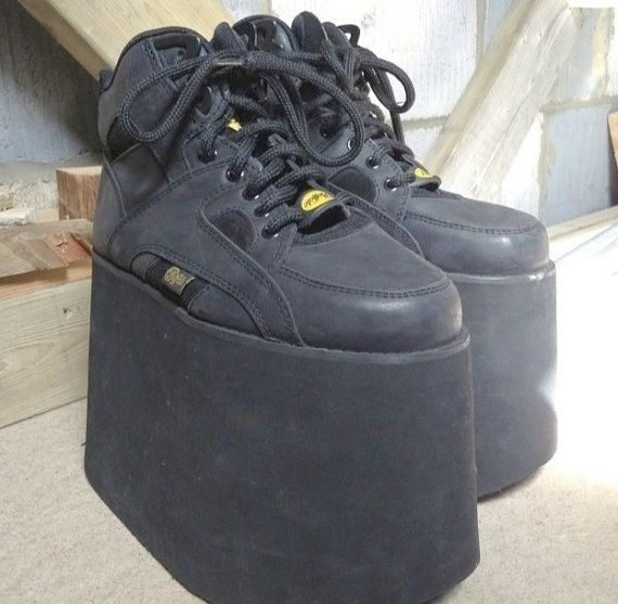 sneakers for cheap 0fc86 dfe7f 90s Original Buffalo Tower Platforms. CYBER Vintage by ...