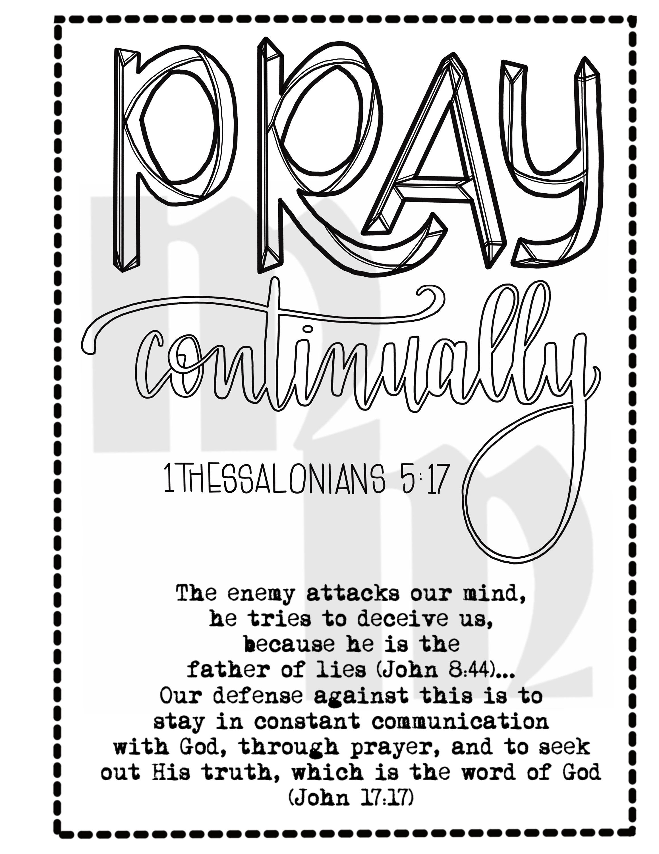 War Binder Printable Prayer Journal Printable