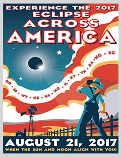graphic relating to Printable Solar Eclipse Glasses titled Eclipse Throughout The usa Purple-White-and-Blue Poster preview