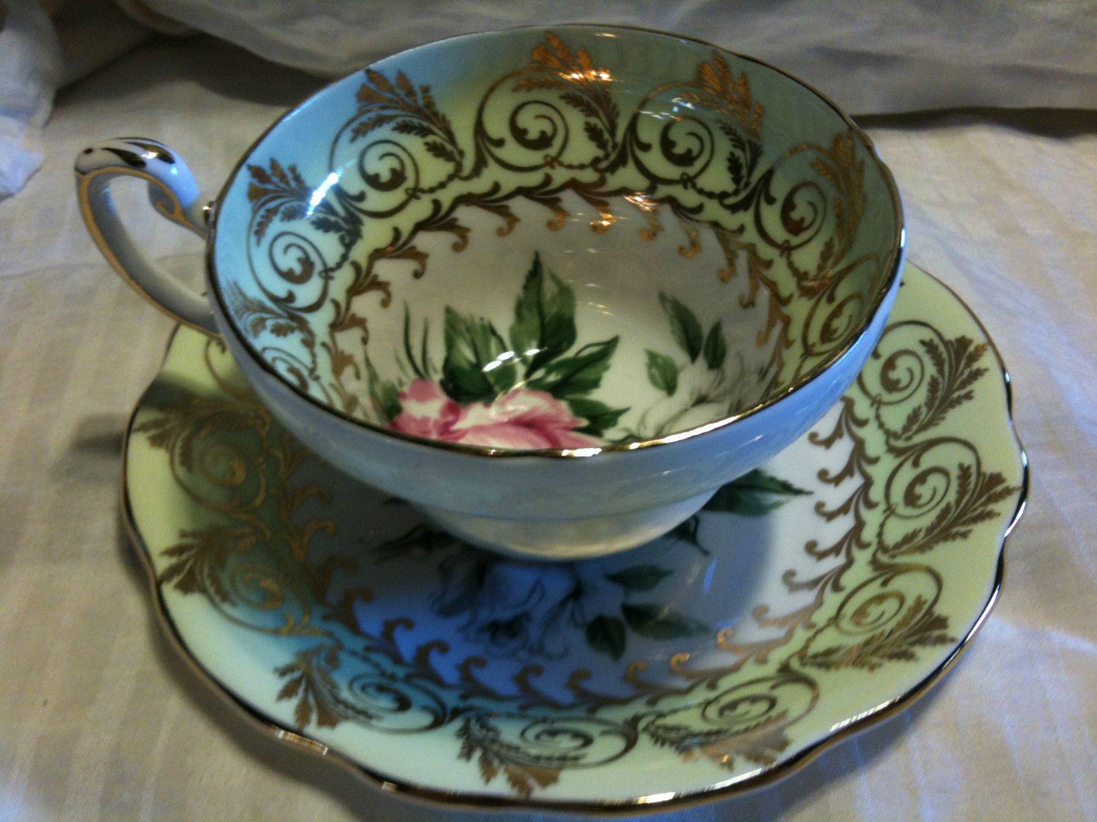 Foley Vintage Fine Bone China Tea Cup& Saucer On EBay