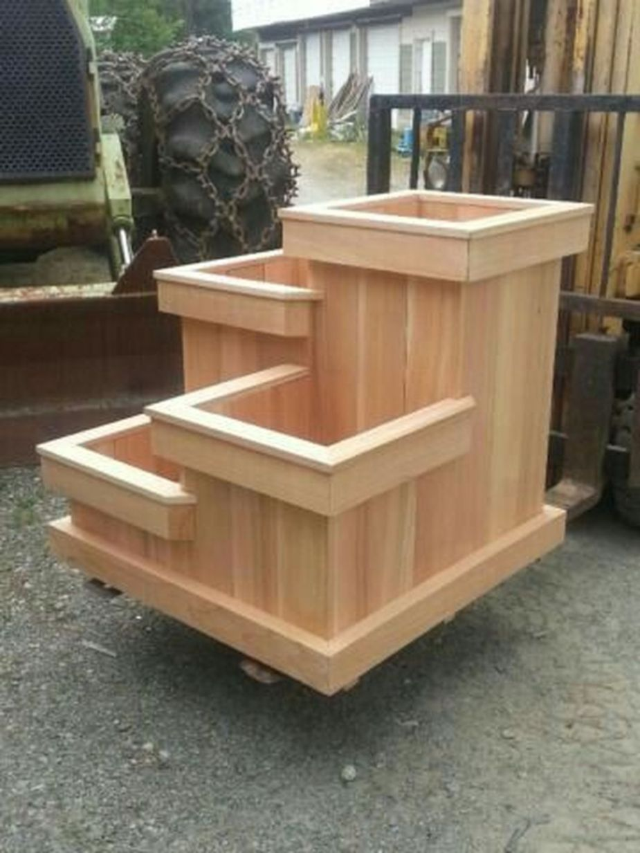 Creative Diy Wooden Planters For Your Amazing Garden 08 Wooden Planter Boxes Diy Diy Wooden Planters Garden Diy On A Budget