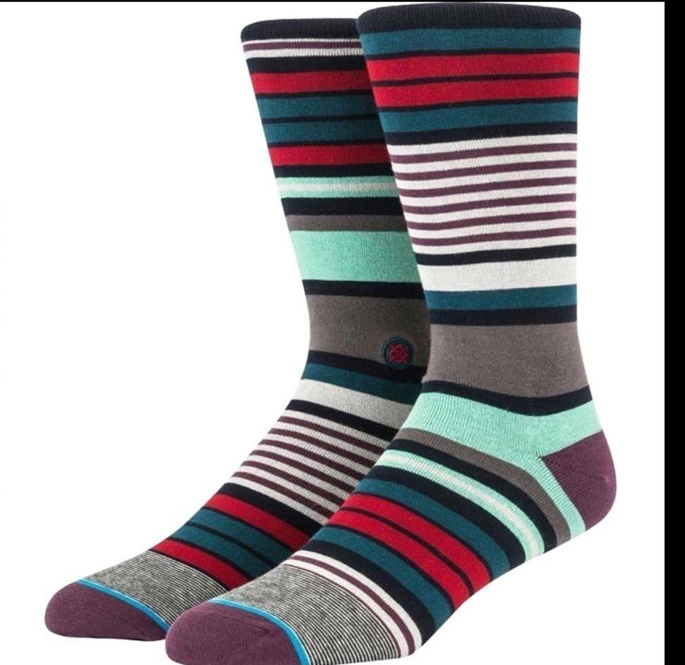 Mens Stance Socks Dress Mix Match Supima Cotton CHARLES L / XL New Large