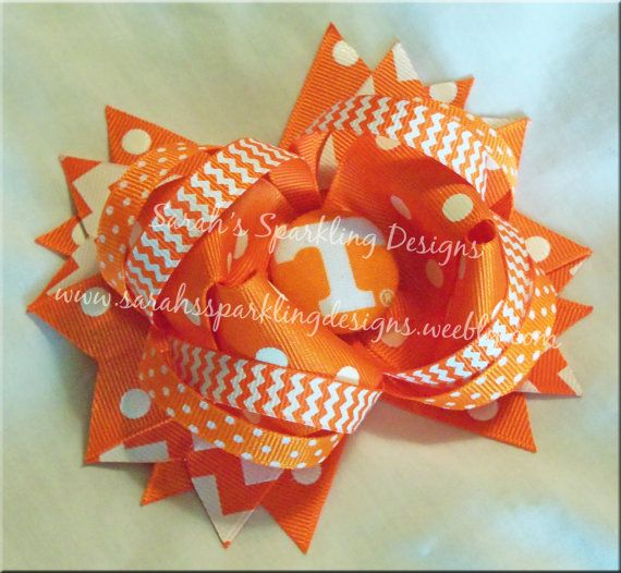 UT Vols Inspired Boutique Bow on Etsy, $9.00