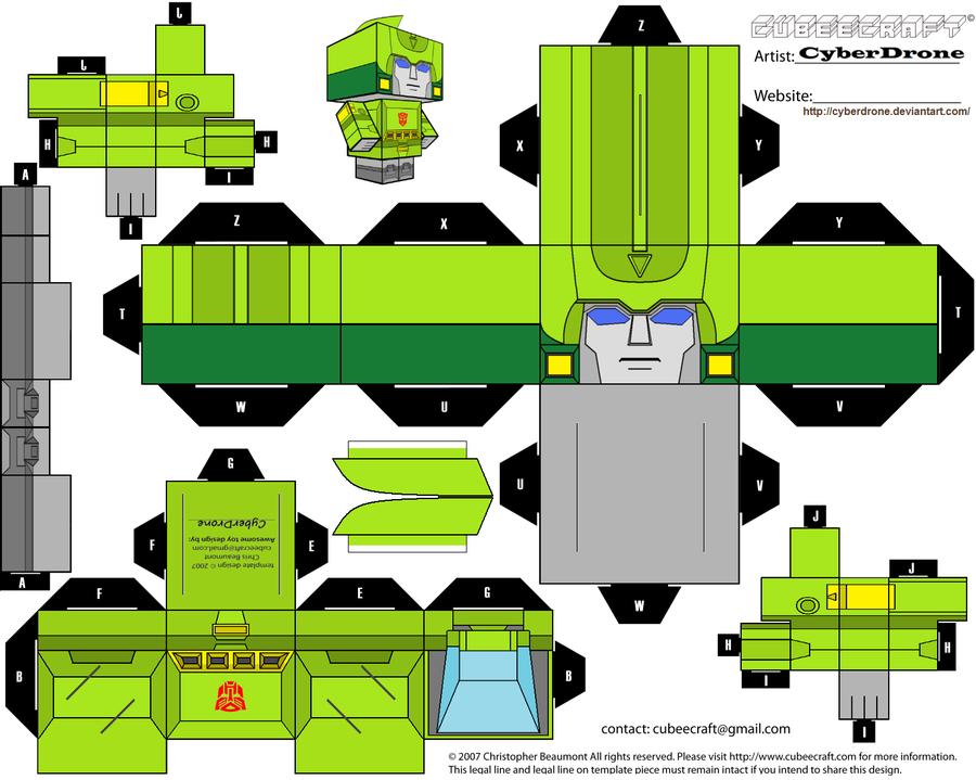 Cartoon Network Papercraft Bumper