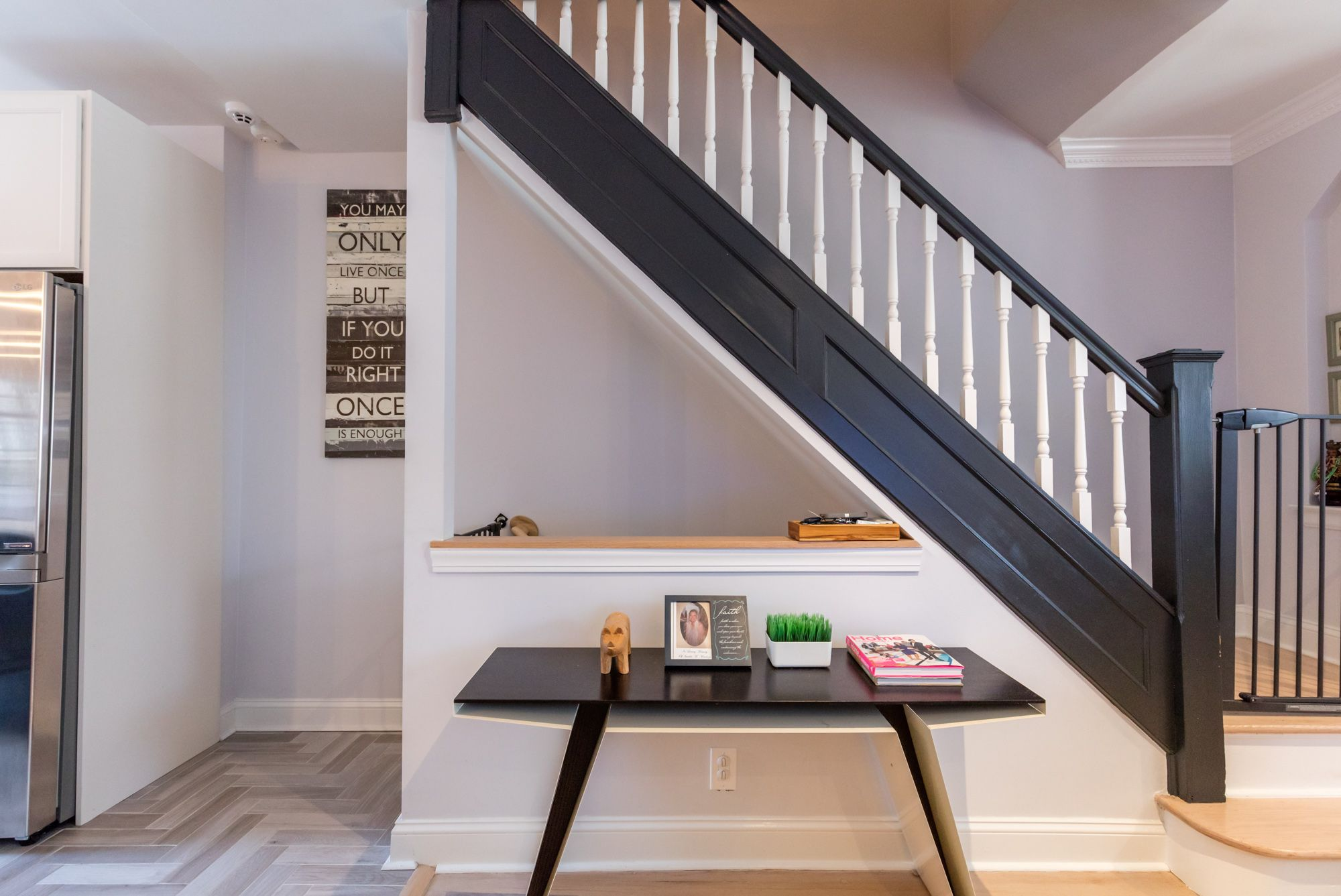 Image Result For Open Concept Colonial Floor Plans Basement Stairs   Open Concept With Basement Stairs In Middle Of House   Dining Room   Basement Steps   Basement Remodeling   Stair Case   Kitchen