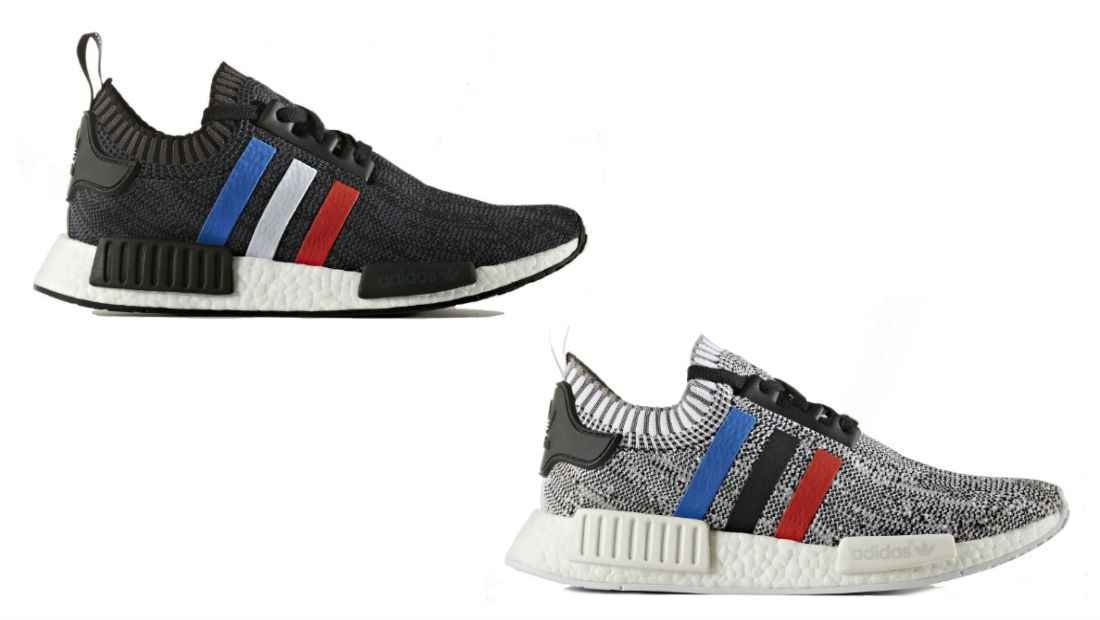Red, White & Blue Stripes on These Upcoming adidas NMDs
