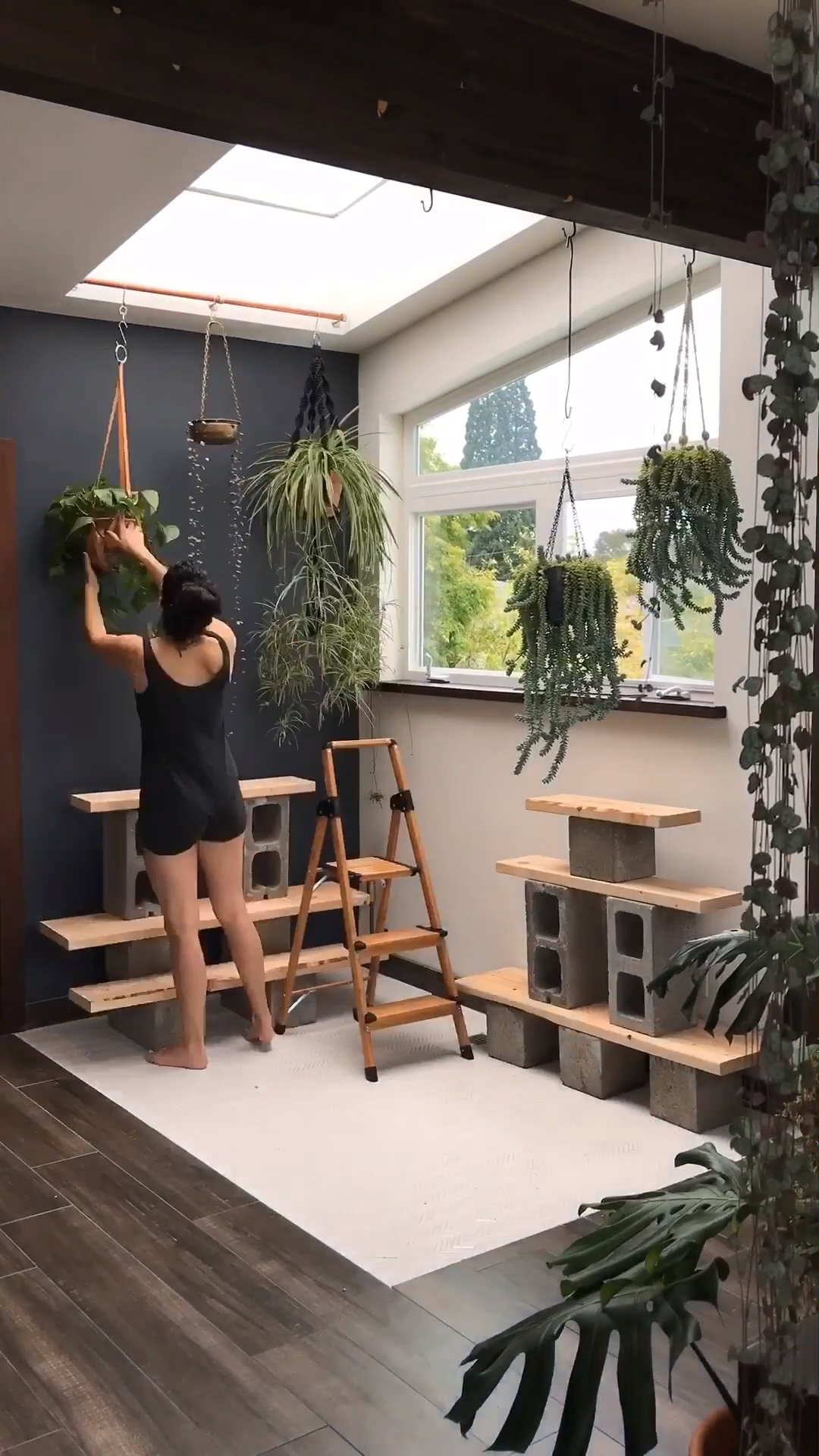 Creating a sacred space in your home not only provides you a sanctuary from the hustle of day to day life, but is essential in your well-being. See the full reveal of my new space on the blog and get my 4 tips on how to design your own space. #sacredelements #ecotherapy #Naturalworldtherapy #selfcare