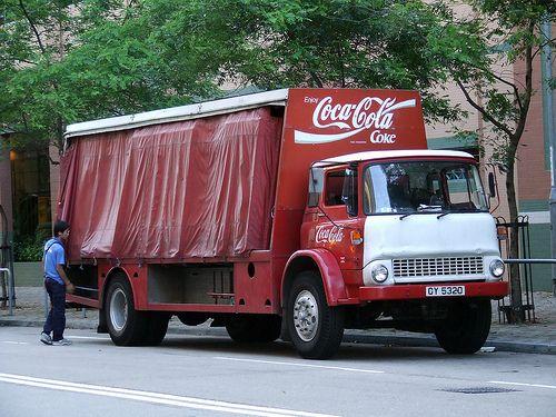 Cocacola Bedford Tk Cy5320 Vrachtwagens Voertuigen En Oldtimers