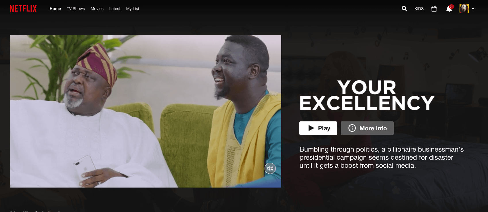 Icymi Ebonylife Films Blockbuster Your Excellency Streaming Now On Netflix Movies Bimbomanuel In 2020 Netflix Film Netflix Streaming