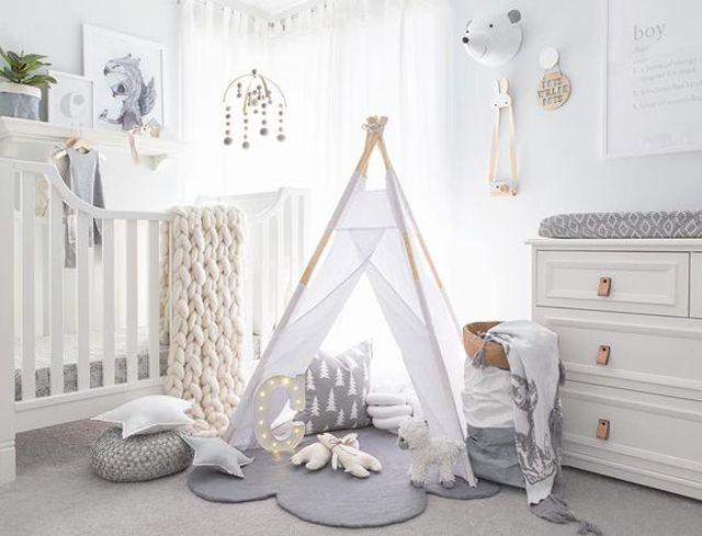 White Done Right 19 Wonderfully White Nurseries Baby Room Decor