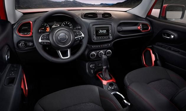 2015 Jeep Renegade Meet The New Small Jeep Jeep Renegade Interior Jeep Renegade 2015 Jeep Renegade