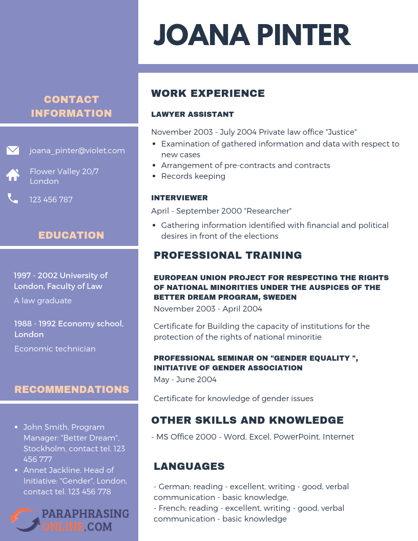 Are You Confuse Get A Resume Paraphrasing Example After In Thi Link Http Www Paraphrasingonline Com Rephrase Work Experience Plagiarism Different Between And Rephrasing