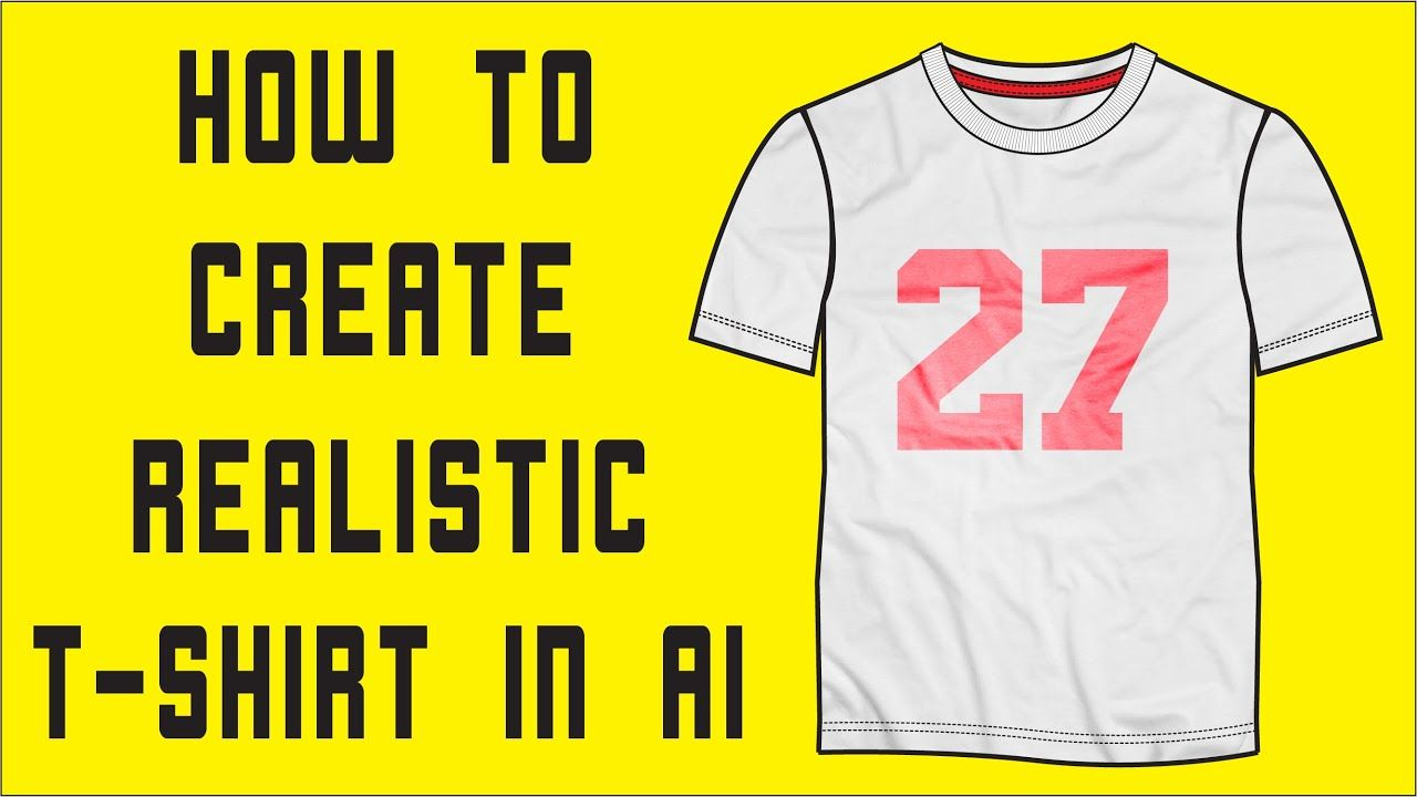 Download In This Video I Will Show You Realistic T Shirt Mock Up Using Ai Template Templates Apparel Clothing Garment Mocku T Shirt Tshirt Mockup Fashion Templates