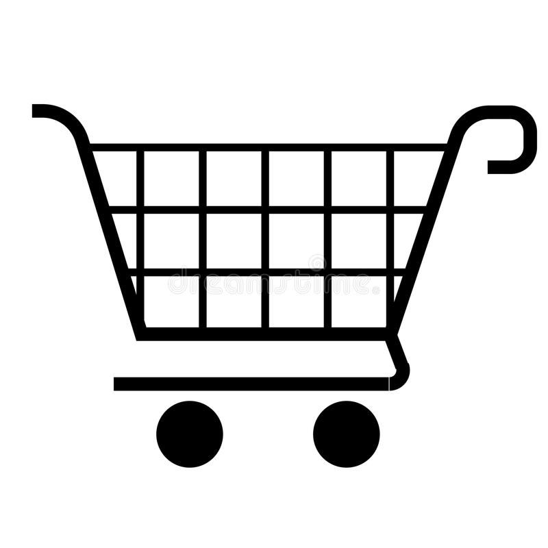 Shopping Cart Icon Vector Shopping Cart Icon For Design Sponsored Ad Ad Cart Vector Icon Cart Icon Vector Illustration Stock Photography Free