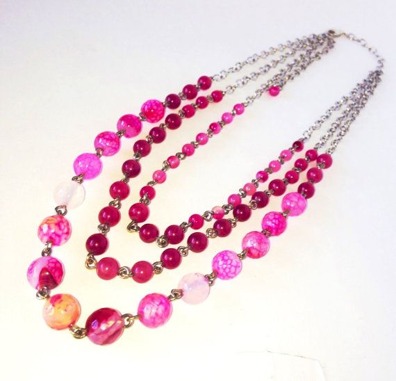 Fuschia Affair by CCHenryDesigns on Etsy