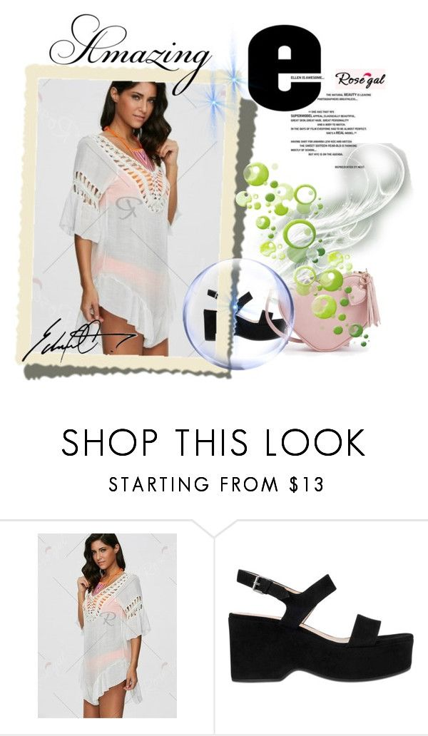 """""""Rosegal"""" by ulema-lealic ❤ liked on Polyvore featuring Marc Jacobs and Champion"""