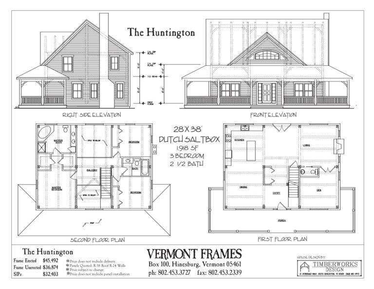 Post Beam Home Plans In Vt Timber Framing Floor Plans Vt Frames Floor Plans Timber Frame Home Plans Timber House