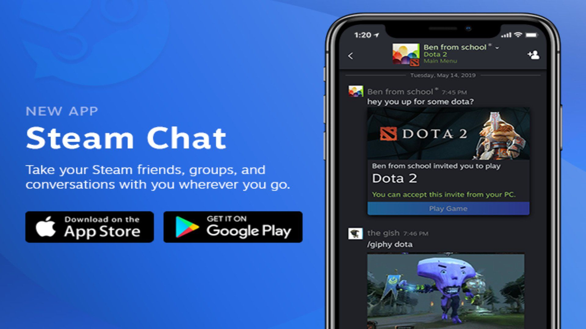 Valve Releases Standalone Steam Chat App for Android and