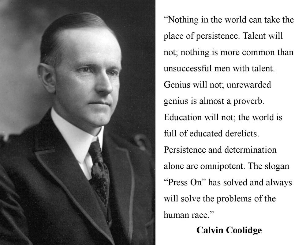 Presidents Quotes Out Of All The Presidents Calvin Coolidge's Words Here Are The