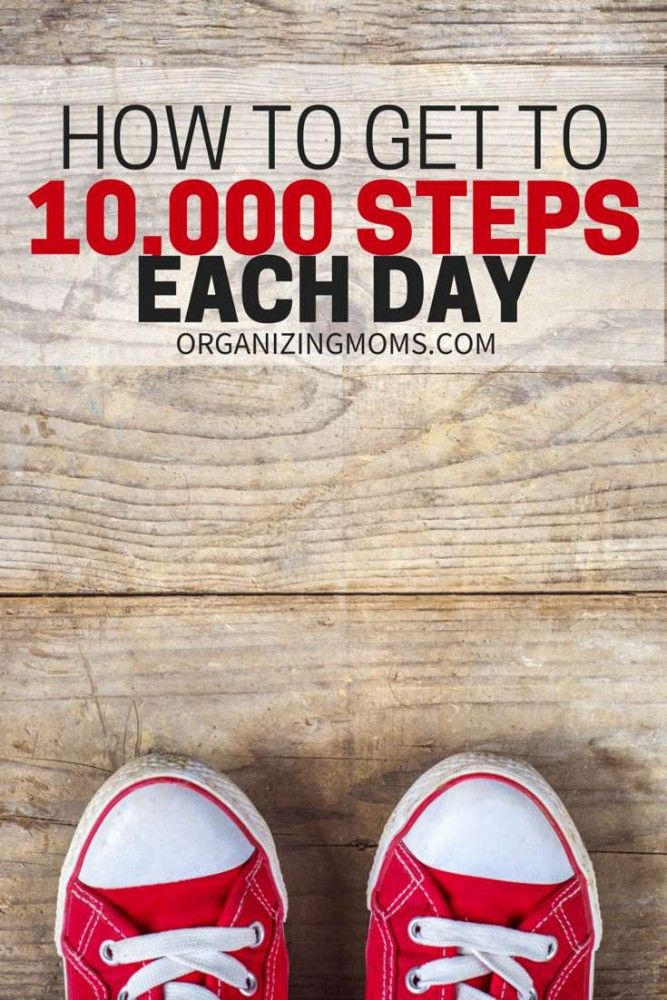 How to Get to 10000 Steps a Day