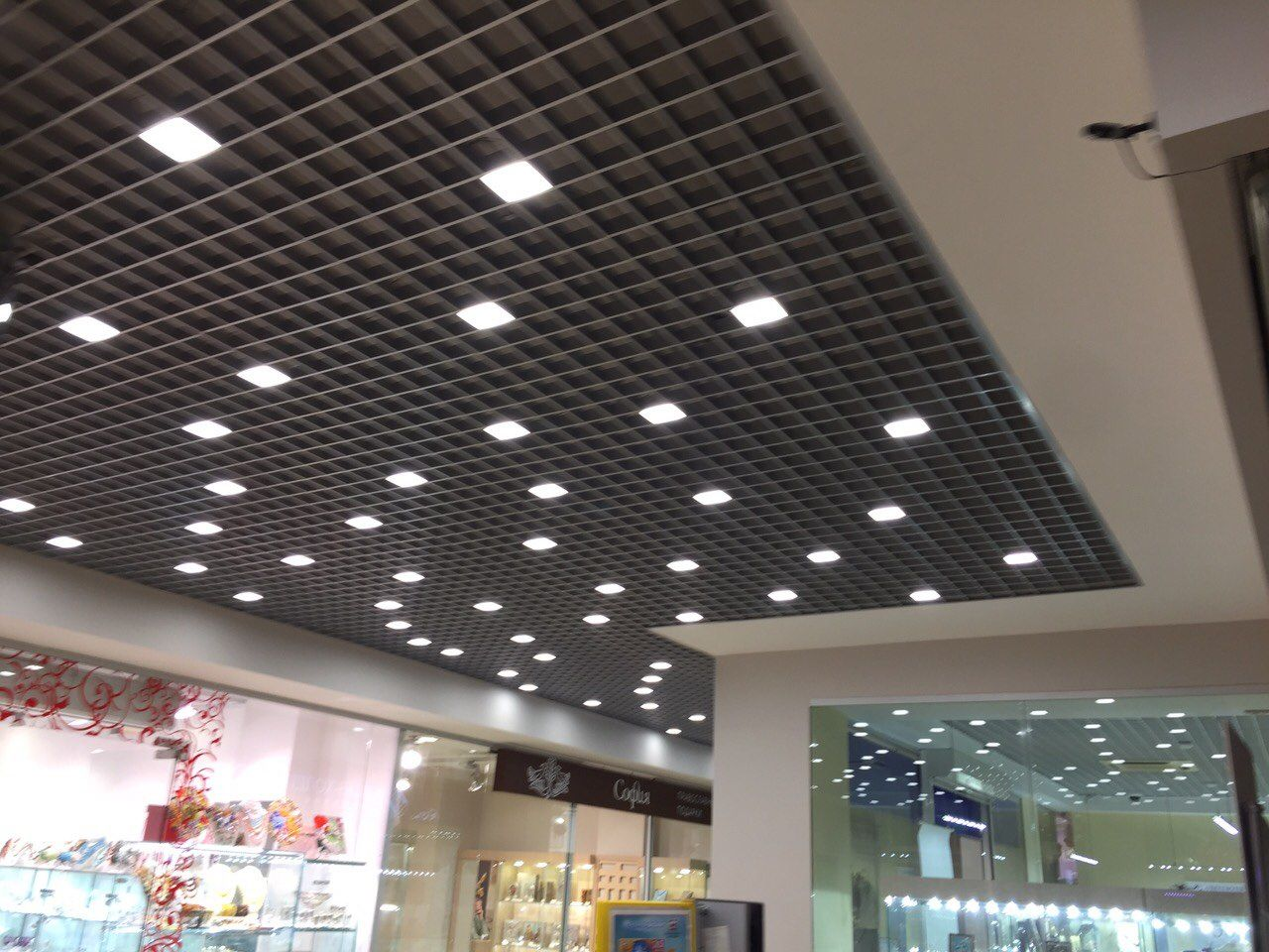 Дизайн светильников для потолка грильято фото