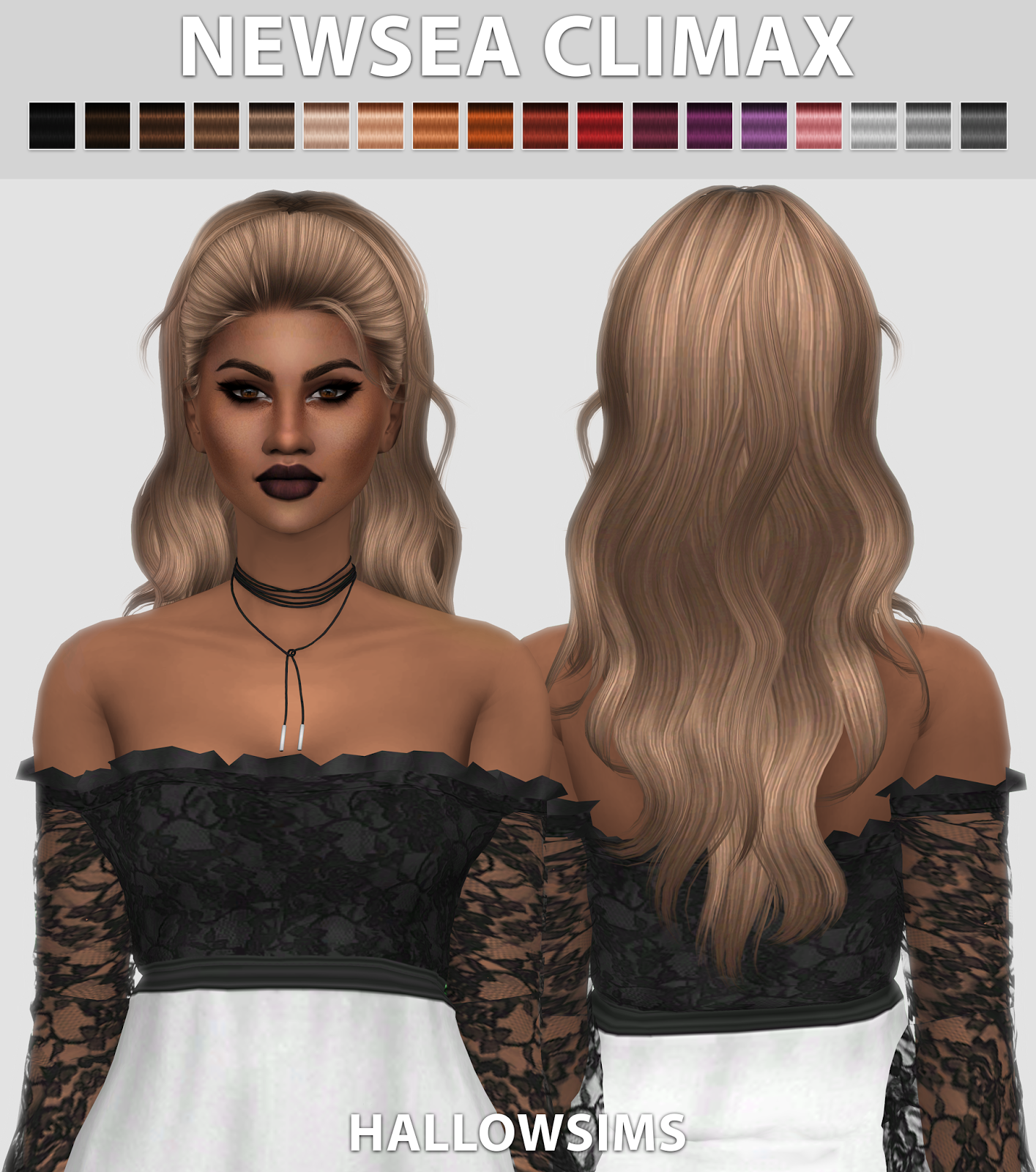 Download Hair: Sims 4 Mods, Sims 4, Sims