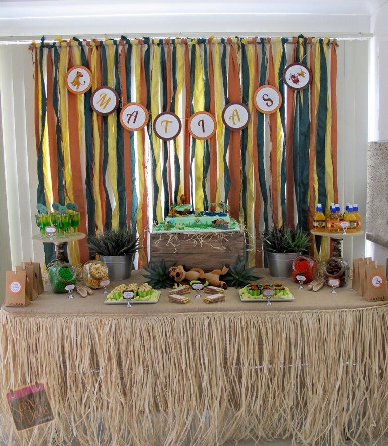 Lion King Party By Save The Date Events