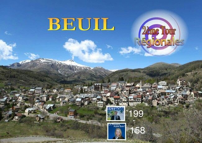 Beuil élection régionale 2015