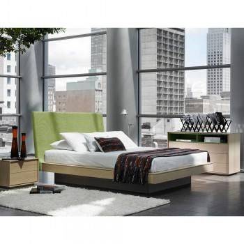 Top quality bedroom set made with the finest wood veneers and soft ...