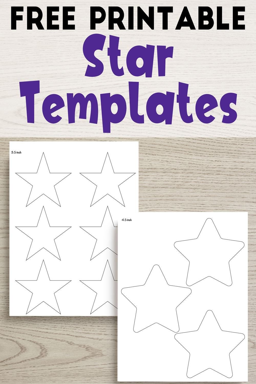 25 Free Printable Star Templates Extra Large Star Pattern Star Template Printable Star Template Printable Star