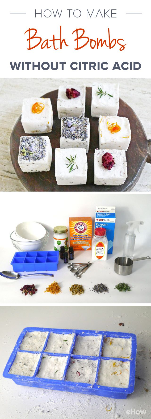 how to make lush bath bombs without citric acid