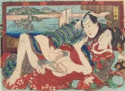 Японские сексуальные гравюры