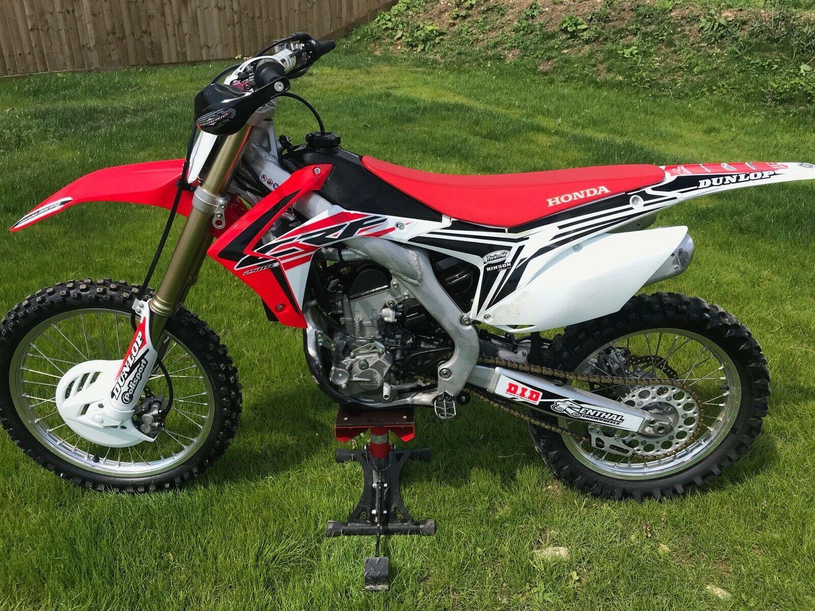 Honda Crf 250 2015 Low Hours Fuel Injection Mx Bike Motorcross