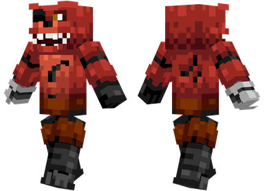 Foxy The Pirate Fox From Five Nights At Freddys Minecraft Skins - Foxy skins fur minecraft
