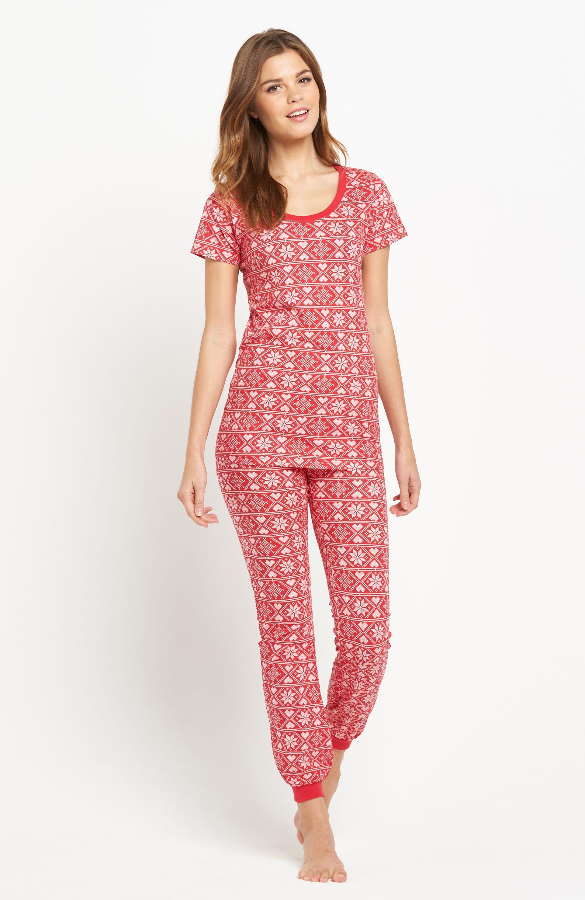 2-dielne pyžamo s pekným vzorom od značky Sorbet. Tričko s krátkymi rukávmi a…