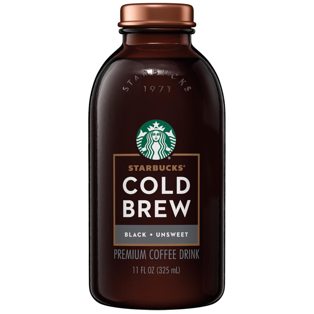 Starbucks Cold Brew Premium Blend Coffee, Black ...