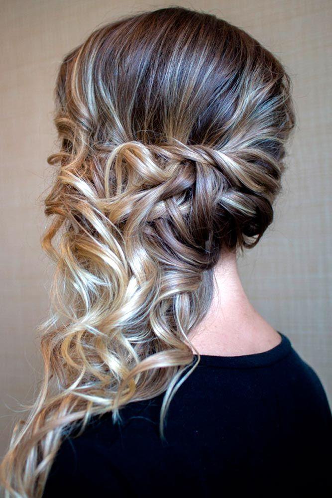 Peinados semirecogidos formales