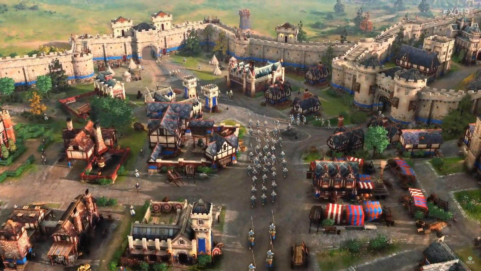 Age Of Empires Iv Had Its Gameplay Debut At X019 Age Of Empires
