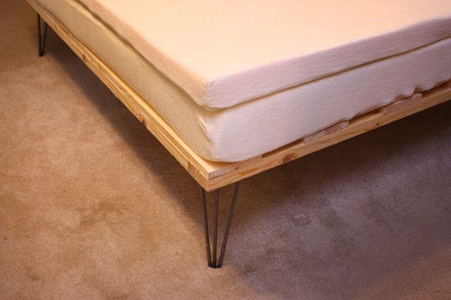 Called Handmade Life Cheap Diy Memory Foam Platform Bed Diy Foam Mattress Diy Bed Frame Platform Mattress